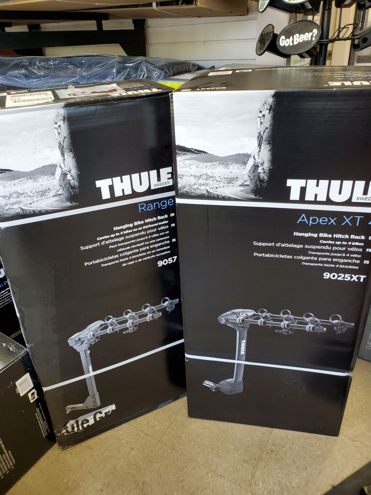 racks - Thule Bike Rack